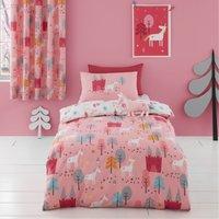 Cosatto Unicornland 100% Cotton Duvet Cover and Pillowcase Set Pink