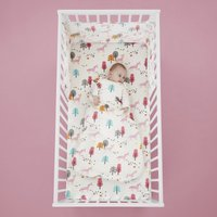 Cosatto Unicornland 100% Cotton 2.5 Tog Baby Sleeping Bag Pink, White and Blue