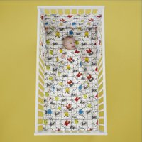 Cosatto Monster Mob 100% Cotton Baby Sleeping Bag White