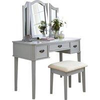 image-Bella Dressing Table Set Grey