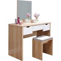 image-Elizabeth Dressing Table Set Oak