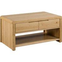 image-Curve Oak Coffee Table Oak