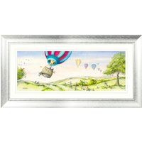 image-Hang in There Framed Print MultiColoured