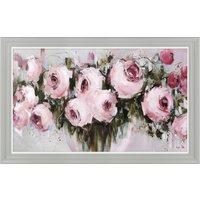 image-Blush pinks Framed Print Pink