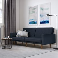 Paxson Linen Sofa Bed Navy