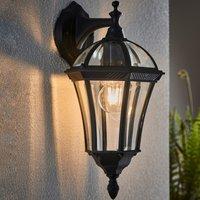 image-Endon Drayton Outdoor Wall Light Black Black