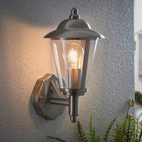 image-Endon Klien Outdoor Wall Light Steel Steel