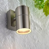 image-Endon Canon Outdoor Wall Light Steel Steel