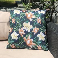 image-Java Navy Water Resistant Outdoor Cushion Navy