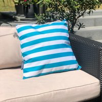 image-Coast Blue Water Resistant Outdoor Cushion Blue