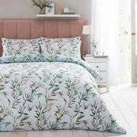 Dorma Nature Garden 100% Cotton Duvet Cover and Pillowcase Set MultiColoured