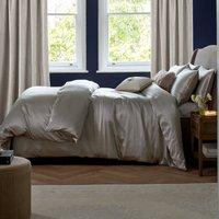 Dorma Silver 100% Silk Duvet Cover Silver
