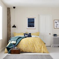 Joules Twilight Ditsy Bedspread Teal (Green)