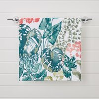 Tropique Green Printed Hand Towel Green