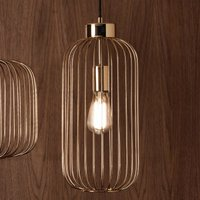 Pacific Lifestyle Dania 1 Light Pendant Slim Ceiling Fitting