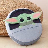 Star Wars Baby Yoda 3D Cushion Dark Green