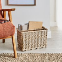 Willow Magazine Rack Natural (Brown)