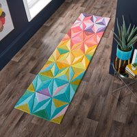 Reverie Runner Green, Yellow and Pink