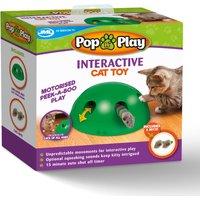 Pop N Play Pet Toy Green