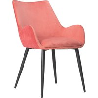 Avery Carver Chair Coral