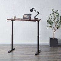 Koble Apollo Walnut Effect Adjustable Standing Smart Desk Walnut (Brown)