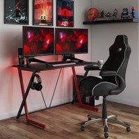 Phantom Gaming Desk Black