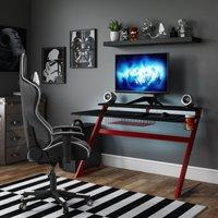 Aries Gaming Desk Black