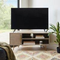 Priya Corner TV Stand Wood (Brown)