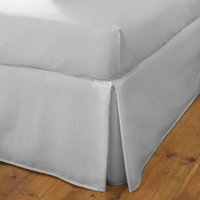 Fogarty Cooling Cotton Fitted Valance Sheet Silver