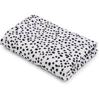 Dottie Black 100% Cotton Hand Towel Black and white
