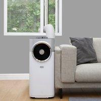 Portable 12000 BTU 3-in-1 Air Conditioner White