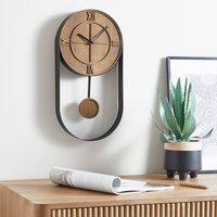 Fulton Pendulum Clock Brown
