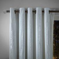 Keston White Eyelet Curtains White