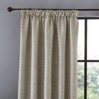 Harper Grey Pencil Pleat Curtains Grey