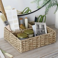 Seagrass Desk Organiser Natural