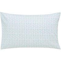 Helena Springfield Liv Tolka Teal Housewife Pillowcase Pair Teal (Blue)