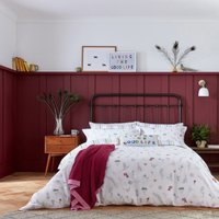 Joules The Country Estate Chalk 100% Cotton Reversible Duvet Cover and Pillowcase Set MultiColoured