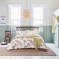Joules Kelmarsh Floral 100% Cotton Reversible Duvet Cover and Pillowcase Set MultiColoured