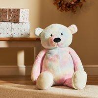 100cm Rainbow Plush Bear MultiColoured