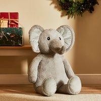 100cm Elephant Plush MultiColoured