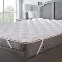 Superbounce mattress topper white