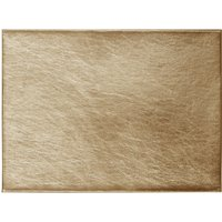 Pack of 4 Gold Foil Placemats Gold