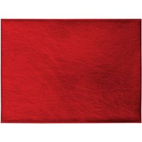 Pack of 4 Red Foil Placemats Red