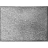 Pack of 4 Silver Foil Placemats Silver