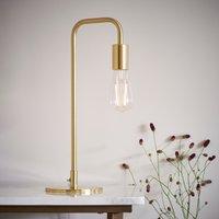 Vogue Cay Desk Lamp Brass