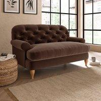 Canterbury Luxury Velvet Snuggle Chair Luxury Velvet Pinecone