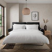 Salisbury Luxury Velvet 2 Seater Sofa Bed Luxury Velvet Black