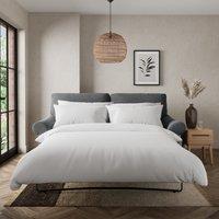 Salisbury Slub Cotton 2 Seater Sofa Bed Slub Cotton Black