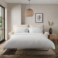 Salisbury Slub Cotton 2 Seater Sofa Bed Slub Cotton Sandstone