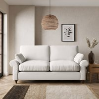 Salisbury Textured Weave 2 Seater Sofa Bed Textured Weave Sandstone